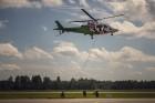 Aviācijas bāzē Lielvārdē 8.06.2019. norisinājās aviācijas paraugdemonstrējumi, kas veltīti Gaisa spēku simtgadei 37