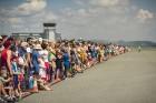 Aviācijas bāzē Lielvārdē 8.06.2019. norisinājās aviācijas paraugdemonstrējumi, kas veltīti Gaisa spēku simtgadei 42