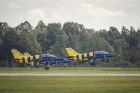 Aviācijas bāzē Lielvārdē 8.06.2019. norisinājās aviācijas paraugdemonstrējumi, kas veltīti Gaisa spēku simtgadei 53