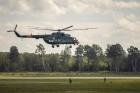 Aviācijas bāzē Lielvārdē 8.06.2019. norisinājās aviācijas paraugdemonstrējumi, kas veltīti Gaisa spēku simtgadei 56