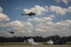 Aviācijas bāzē Lielvārdē 8.06.2019. norisinājās aviācijas paraugdemonstrējumi, kas veltīti Gaisa spēku simtgadei 66