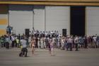 Aviācijas bāzē Lielvārdē 8.06.2019. norisinājās aviācijas paraugdemonstrējumi, kas veltīti Gaisa spēku simtgadei 77