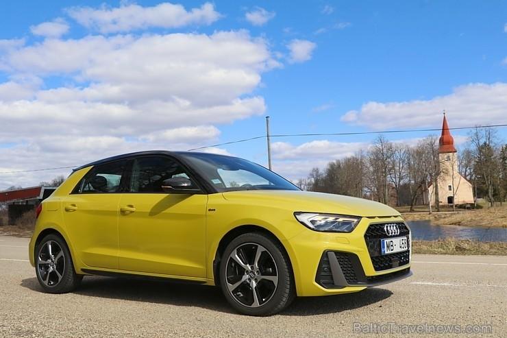 35 bildes «Audi A1» un 60 bildes «Audi A1» (2019)