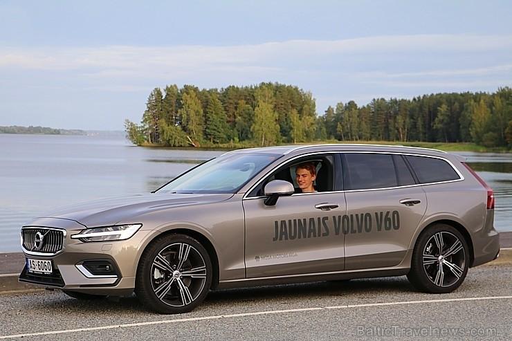 85 bildes - «Volvo V60» (2018)