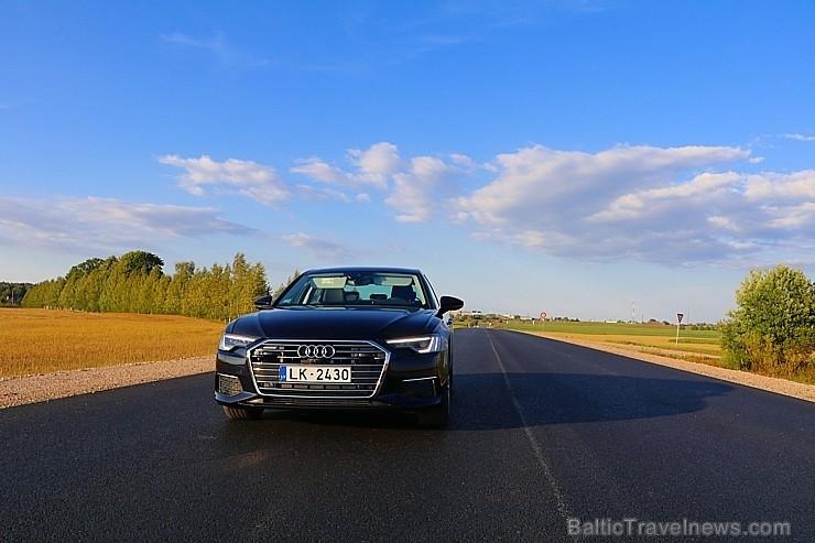 80 bildes - «Audi A6» un 90 bildes - «Audi A6» (2018)