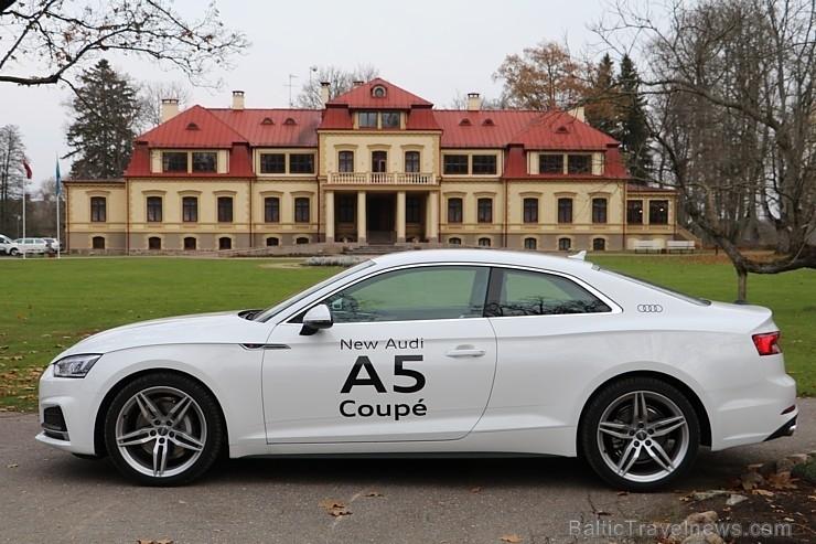 45 bildes - «Audi A5 Coupe» un 35 bildes - «Audi A5 Coupe»