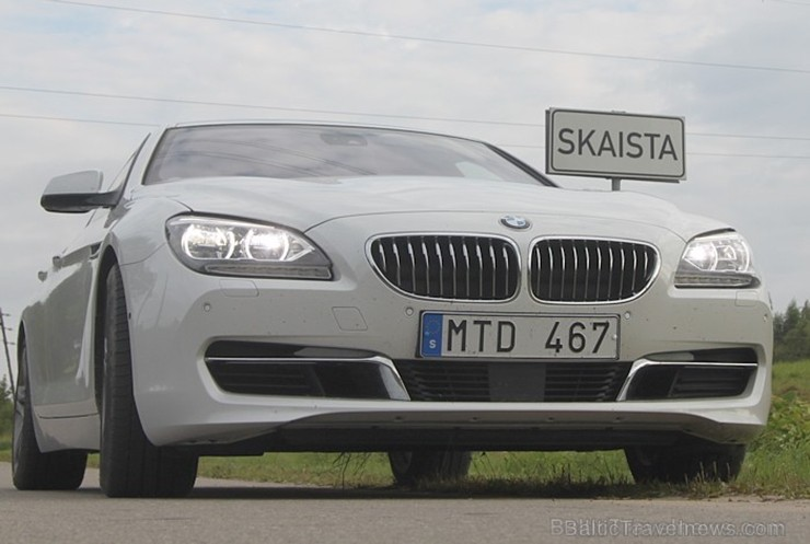 60 bildes - «BMW Gran Coupe 640i»