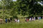 Ar krāšņu svētku atklāšanas programmu Alūksnes  pusē atklātas Veclaicenes aizsargājamo ainavu apvidū izveidotās Dabas mājas un pašapkalpošanās tūrisma 15