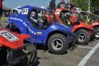 Rallijkrosa čempionāta 2. posms Salas novada Biržos pulcēja lielu skaitu sportistu un atbalstītāju, garantējot īpašu autosporta piepildītu brīvdienu 2