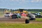 Rallijkrosa čempionāta 2. posms Salas novada Biržos pulcēja lielu skaitu sportistu un atbalstītāju, garantējot īpašu autosporta piepildītu brīvdienu 12