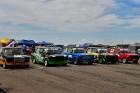 Rallijkrosa čempionāta 2. posms Salas novada Biržos pulcēja lielu skaitu sportistu un atbalstītāju, garantējot īpašu autosporta piepildītu brīvdienu 15