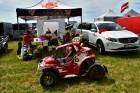 Rallijkrosa čempionāta 2. posms Salas novada Biržos pulcēja lielu skaitu sportistu un atbalstītāju, garantējot īpašu autosporta piepildītu brīvdienu 17