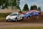 Rallijkrosa čempionāta 2. posms Salas novada Biržos pulcēja lielu skaitu sportistu un atbalstītāju, garantējot īpašu autosporta piepildītu brīvdienu 24