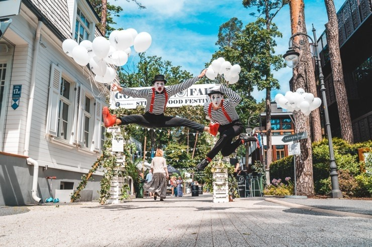 Legend kvartāls Jūrmalā pārtapa krāšņā un gardā pasakā, ko organizēja Resto-Rātors restorānu grupa