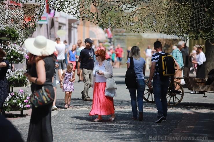 Cēsīs ar plašu pasākumu programmu 22.06.2019 svinēja Latvijas Uzvaras dienu, atceroties Cēsu kauju notikumus pirms 100 gadiem