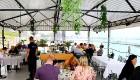 Travelnews.lv izbauda Pārdaugavas restorānu «Hercogs Fabrika» piedāvājumu uz plosta 7