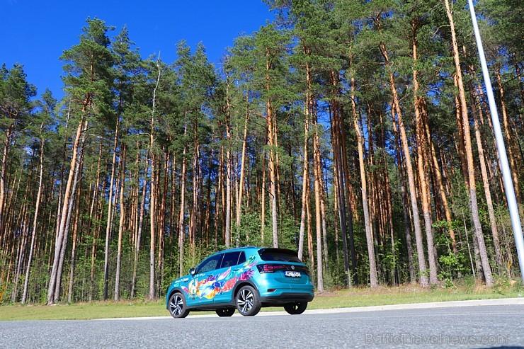 Travelnews.lv apceļo Pierīgu uz Rundāles novadu ar jauno «Volkswagen T-Cross»