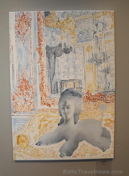 Jaunā māksliniece Agate Bernāne rīko personālo izstādi viesnīcā «Grand Poet by Semarah Hotels»