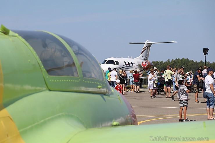 Tukumā 2019.gada 20. un 21.jūlijā kuplā skaitā pulcējas avio šova cienītāji uz «Wings Over Baltics Airshow 2019»