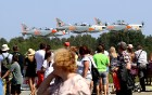 Tukumā 2019.gada 20. un 21.jūlijā kuplā skaitā pulcējas avio šova cienītāji uz «Wings Over Baltics Airshow 2019» 20