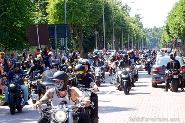 Starptautiskais Baltijas jūras reģiona valstu motobraucēju salidojums