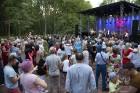 Ar krāšņiem koncertiem, tirdziņiem, pasākumiem un aktivitātēm Lielvārdē svin novada svētkus 81
