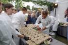 Ar dažādām aktivitātēm, krāšņām koncertprogrammām un gājienu Rēzeknē svinēja pilsētas svētkus 16