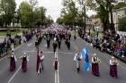 Ar dažādām aktivitātēm, krāšņām koncertprogrammām un gājienu Rēzeknē svinēja pilsētas svētkus 37