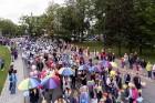 Ar dažādām aktivitātēm, krāšņām koncertprogrammām un gājienu Rēzeknē svinēja pilsētas svētkus 39