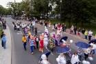 Ar dažādām aktivitātēm, krāšņām koncertprogrammām un gājienu Rēzeknē svinēja pilsētas svētkus 41