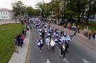 Ar dažādām aktivitātēm, krāšņām koncertprogrammām un gājienu Rēzeknē svinēja pilsētas svētkus 42
