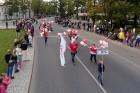 Ar dažādām aktivitātēm, krāšņām koncertprogrammām un gājienu Rēzeknē svinēja pilsētas svētkus 43