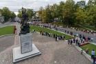 Ar dažādām aktivitātēm, krāšņām koncertprogrammām un gājienu Rēzeknē svinēja pilsētas svētkus 44