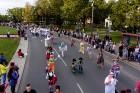 Ar dažādām aktivitātēm, krāšņām koncertprogrammām un gājienu Rēzeknē svinēja pilsētas svētkus 46