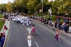 Ar dažādām aktivitātēm, krāšņām koncertprogrammām un gājienu Rēzeknē svinēja pilsētas svētkus 47