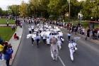 Ar dažādām aktivitātēm, krāšņām koncertprogrammām un gājienu Rēzeknē svinēja pilsētas svētkus 48