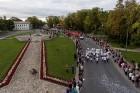 Ar dažādām aktivitātēm, krāšņām koncertprogrammām un gājienu Rēzeknē svinēja pilsētas svētkus 51