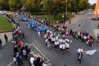 Ar dažādām aktivitātēm, krāšņām koncertprogrammām un gājienu Rēzeknē svinēja pilsētas svētkus 53