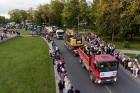Ar dažādām aktivitātēm, krāšņām koncertprogrammām un gājienu Rēzeknē svinēja pilsētas svētkus 58
