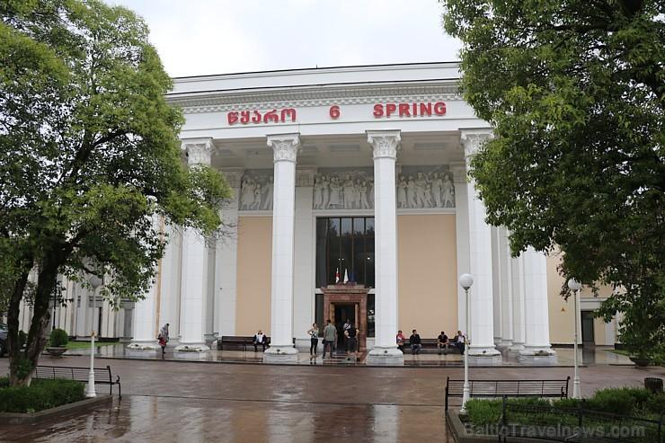 Travelnews.lv iepazīst 2 sanatorijas «Tskaltubo - Balneological Treatment and Rehabilitation Center» un «Balneoresort Tskaltubo»