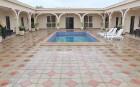 Travelnews.lv pusdieno Tsqaltubo pilsētas viesnīcas «Hotel Oasis Villa» restorānā. Atbalsta: Georgia.travel 3