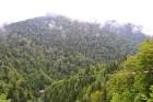 Travelnews.lv Gruzijas kūrortā Sairme izbauda 500 metru braucienu ar zipline 3