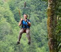 Travelnews.lv Gruzijas kūrortā Sairme izbauda 500 metru braucienu ar zipline 7