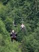 Travelnews.lv Gruzijas kūrortā Sairme izbauda 500 metru braucienu ar zipline 8