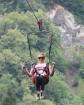 Travelnews.lv Gruzijas kūrortā Sairme izbauda 500 metru braucienu ar zipline 13