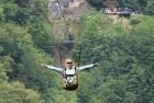 Travelnews.lv Gruzijas kūrortā Sairme izbauda 500 metru braucienu ar zipline 16