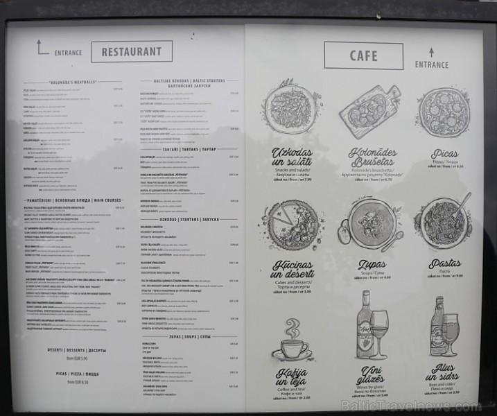 Travelnews.lv izbauda parka restorāna «Kolonāde» vakariņas Rīgas centrā