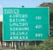 Travelnews.lv izbrauc Gruzijas autostrādes, kalnu asfalta ceļus un vēro dažādos žogu vārtus 19