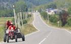 Travelnews.lv izbrauc Gruzijas autostrādes, kalnu asfalta ceļus un vēro dažādos žogu vārtus 62