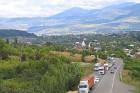 Travelnews.lv izbrauc Gruzijas autostrādes, kalnu asfalta ceļus un vēro dažādos žogu vārtus 68